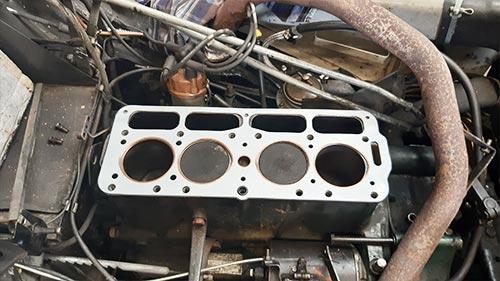 Reparatur Fahrzeug Motor