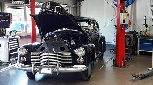 Autowerkstatt Reparatur Oldtimer